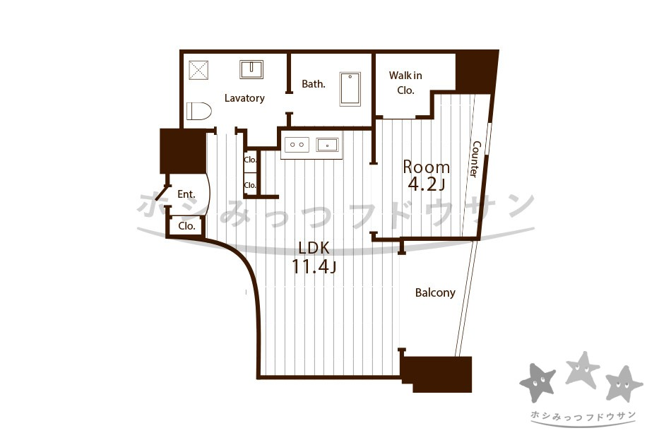 1LDK/ 39m² 93,000円~ 『Chateau&Hotel 2nd』 名古屋市中村区 デザイナーマンション 賃貸