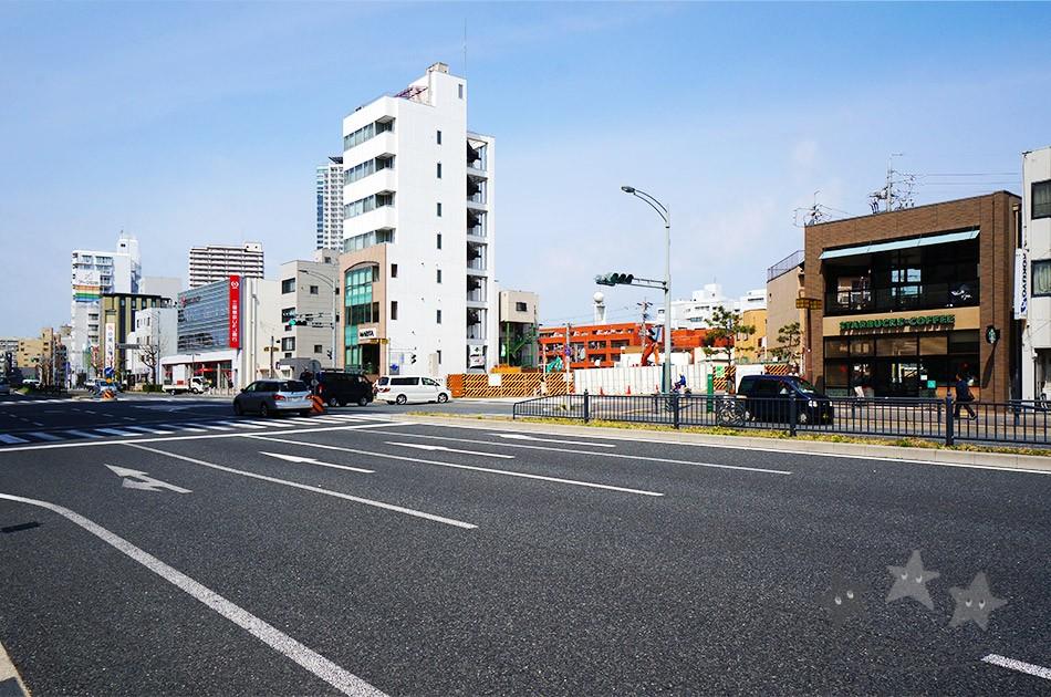 覚王山 町並み